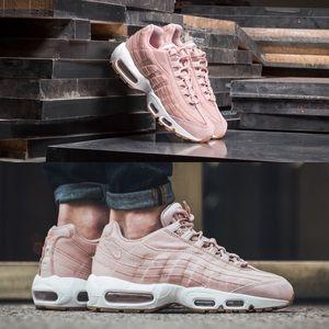 Nike Air Max 95 Women's Premium Pink Sneakers 7